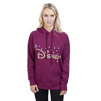 Disney Women's Logo Hoodie,14 (Size: Large)