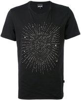 Just Cavalli studded lion T-shirt