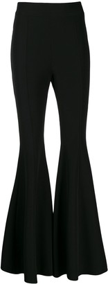Loulou High Waisted Flared Trousers