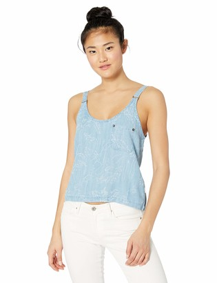 RVCA Womens Collector Boxy FIT Tank TOP