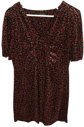 Topshop Tophop Black Velvet Dress for Women