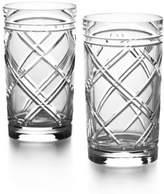 Ralph Lauren Brogan Crystal Highball Glasses/Set Of 2