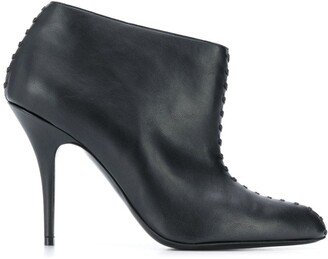 Stella McCartney 100mm Stitched Ankle Boots