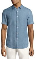 Theory Clark Button-Down Shirt