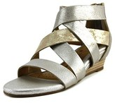 Sofft Rosaria Open Toe Leather Wedge Sandal.