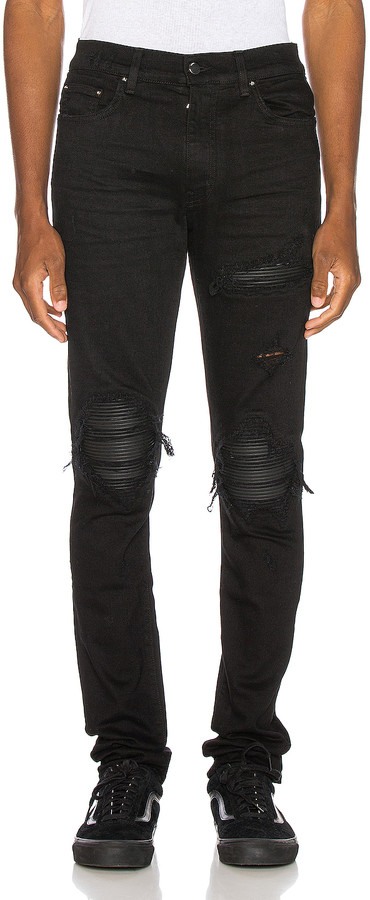 Amiri MX1 Jean in Black | FWRD