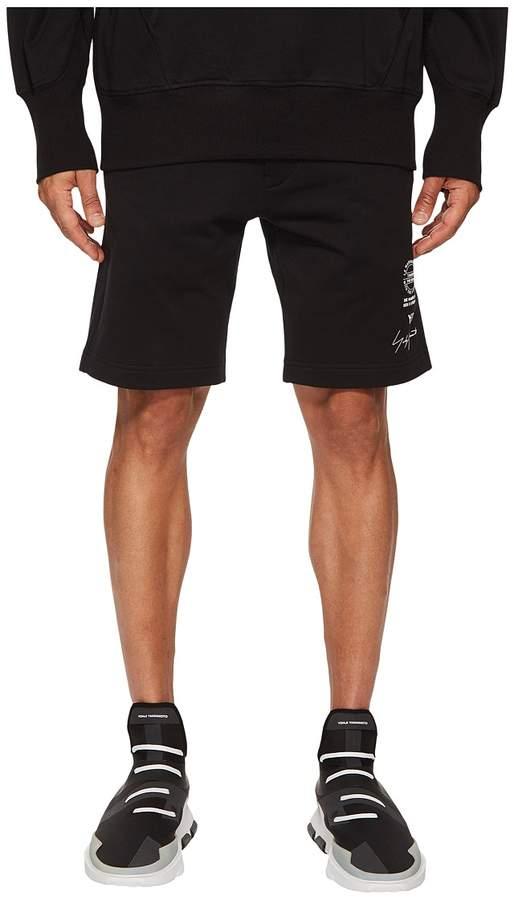 Yohji Yamamoto Graphic Shorts Men's Shorts