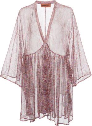 Missoni Mare Printed Knit Cover-Up Mini Dress