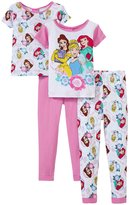 Disney P Is For Power 4 Piece Set (Toddler) - Pink - 2T
