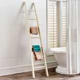 Pier 1 Imports White Bath Towel Ladder