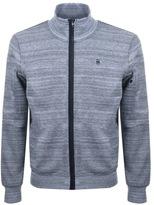 G Star Raw Stalt Full Zip Sweatshirt Blue