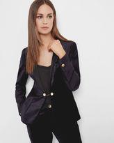 KATCIA Velvet tuxedo suit jacket