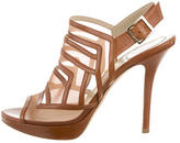 Christian Dior Mesh Cage Sandals