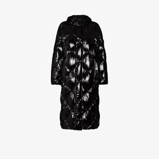 Stand Studio Farrah feather down long padded coat