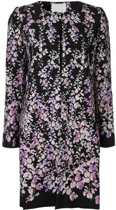 Ingie Paris Floral Print Coat