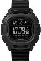 Timex BST.47 Men's Black Silicone Strap Watch