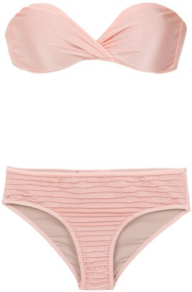 Adriana Degreas Strapless Bikini Set