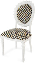 Mackenzie Childs MacKenzie-Childs Sunflower White Outdoor Chair