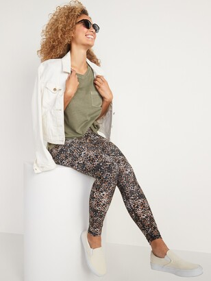 Old Navy Maternity Full Panel Powersoft Post-Partum Support 7/8-Length Leggings