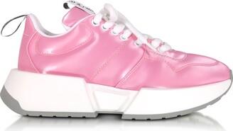 MM6 MAISON MARGIELA Mm6 Maison Martin Margiela Fuchsia Padded Nylon Studio 2 Sneakers