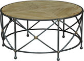 Sarreid Ltd. Stowe Round Coffee Table, Gunmetal