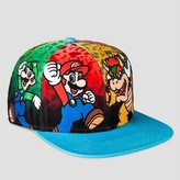 Nintendo Boys' Super Mario Bros Baseball Hat - Multi-Colored