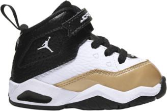 Jordan B'Loyal Basketball Shoes - White / Black Metallic Gold