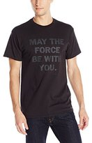Star Wars Men's May The Force Short Sleeve T-Shirt