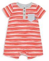 Splendid Baby's Striped Henley Shortalls
