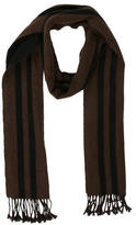 Burberry Fringe Cashmere Scarf