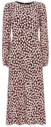 Mint Velvet Elle Floral Print Midi Dress