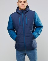 Reebok Padded Jacket In Blue AY1251