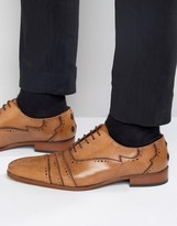 Jeffery West Capone Leather Oxford Brogues