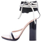 Reed Krakoff Leather Ankle-Strap Sandals