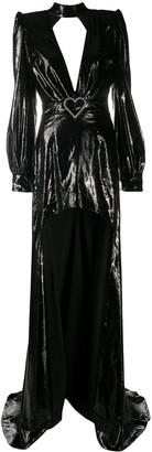 Philipp Plein Alba elegant high-low dress