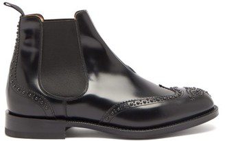 Church's Ketsby Studded Leather Chelsea Boots - Black