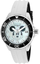 Invicta White & Silver Disney Mickey Mouse Dial Watch