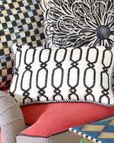Mackenzie Childs MacKenzie-Childs Trellis Lumbar Pillow