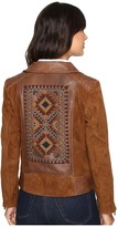 Scully Rhina Beaded Leather Jacket Women's Coat