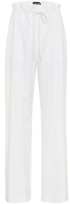 Tom Ford Virgin wool wide-leg pants