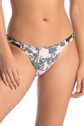 Maaji Twilight Jardim Print Reversible Bikini Bottoms
