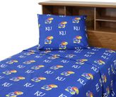 Bed Bath & Beyond University of Kansas Sheet Set
