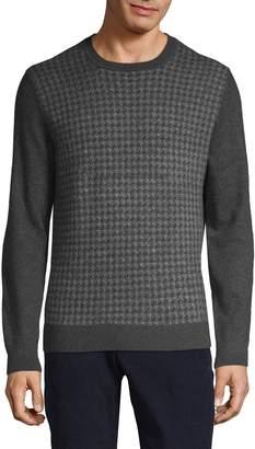 Loro Piana Cashmere & Silk Houndstooth Sweater