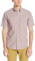 Cutter & Buck Men's Short Sleeve Mars Plaid Shirt