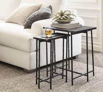 Pottery Barn Whitmore Nesting End Tables