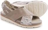 Earthies Santorini Sling-Back Sandals - Leather (For Women)
