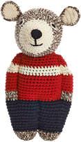 Anne Claire Crochet Midi Teddy - Chocolate