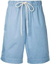 Bassike oversized drawstring shorts - women - Cotton/Polyurethane - 8