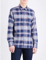 Paige Everett cotton flannel shirt