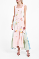 Peter Pilotto Linen Embroidered Dress